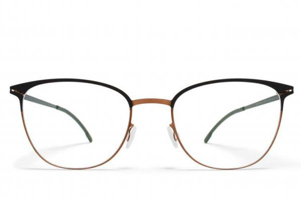 Mykita ULLA SHINY COPPER/BLACK, Korekcijska očala
