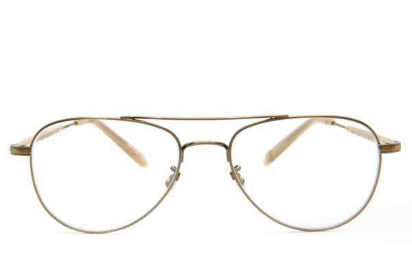 Garrett Leight GARR 3020-51-BG-BN BRUSHED GOLD BONE, Korekcijska očala